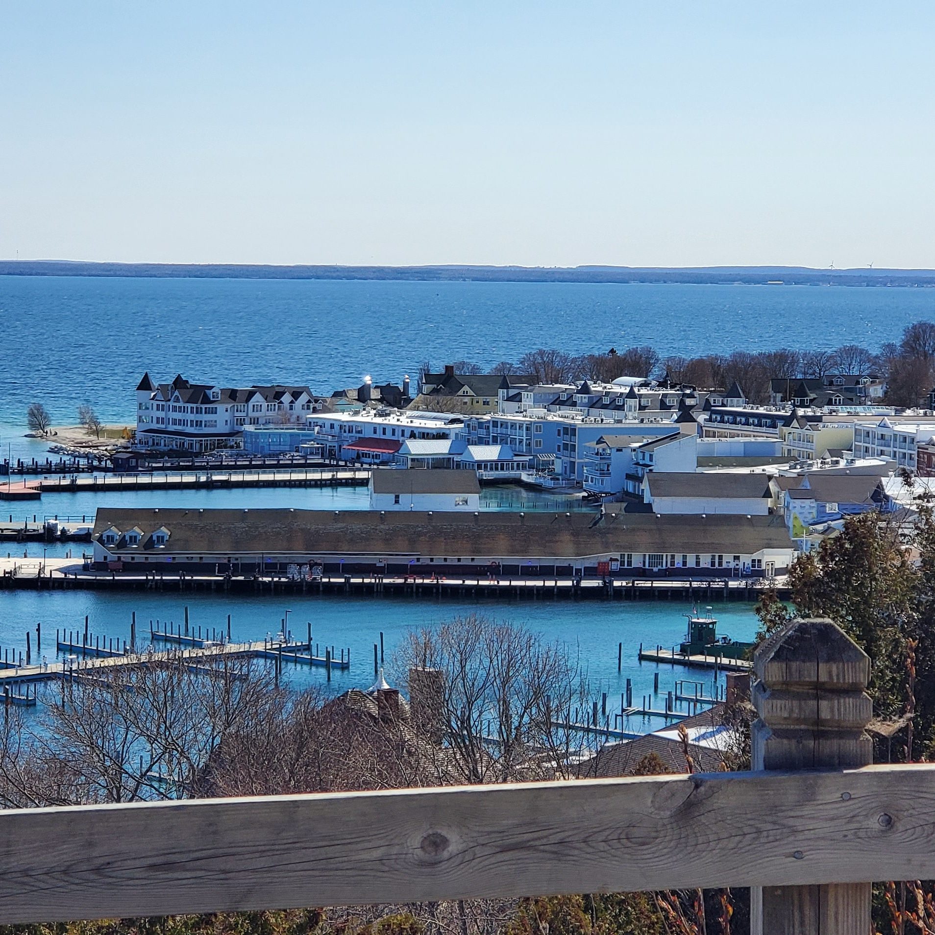 Mackinac Island Requires Fire Protection Services
