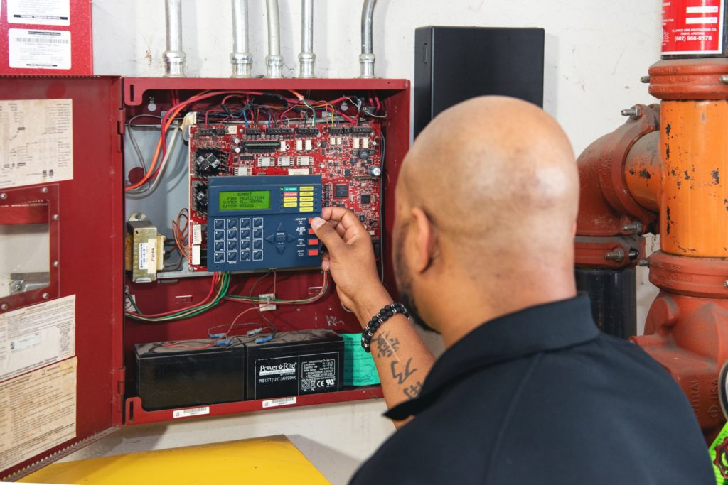 Routinely get your fire safety systems inspected by a trained professional